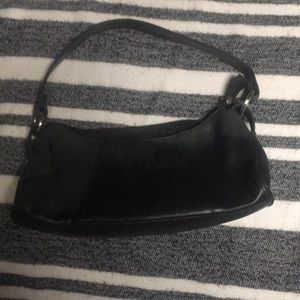 Apostrophe shoulder bag